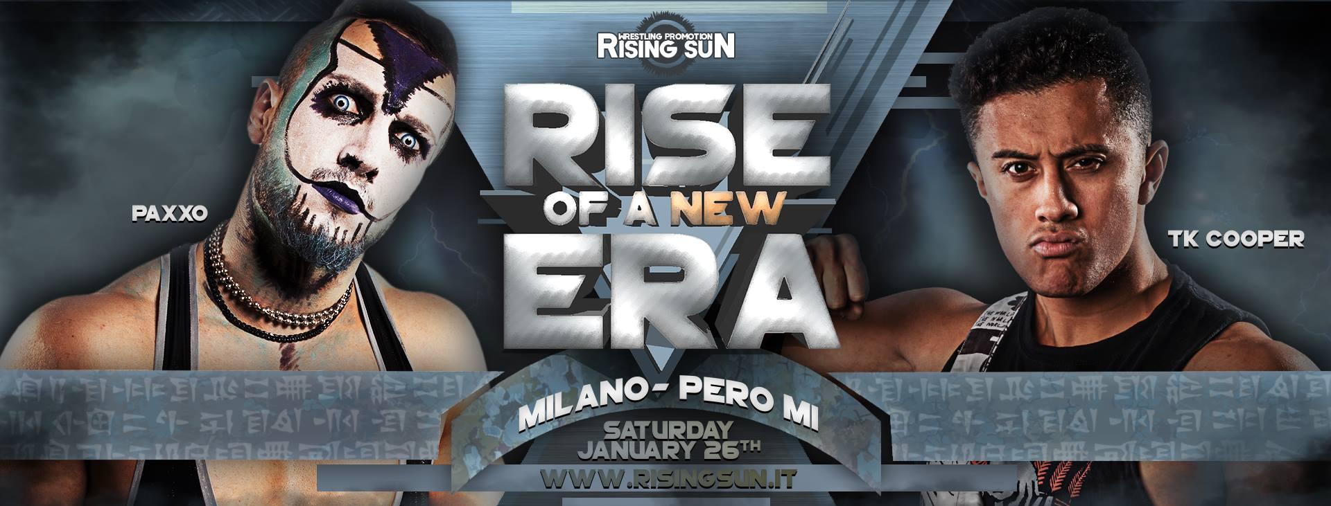 WrestlingRevolution.it al commento degli show italiani, Rising Sun Wrestling Promotion e non solo!